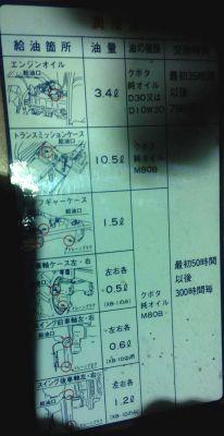 Kubota - jaki olej lać do mini traktorka Japońskiego Kubota i jaki....