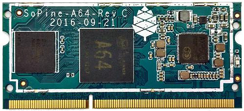 SOPINE A64 - alternatywa dla Raspberry Pi Compute Module 3