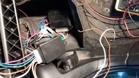 VW Polo Classic 6KV2 - Centralny zamek (opis kabli)