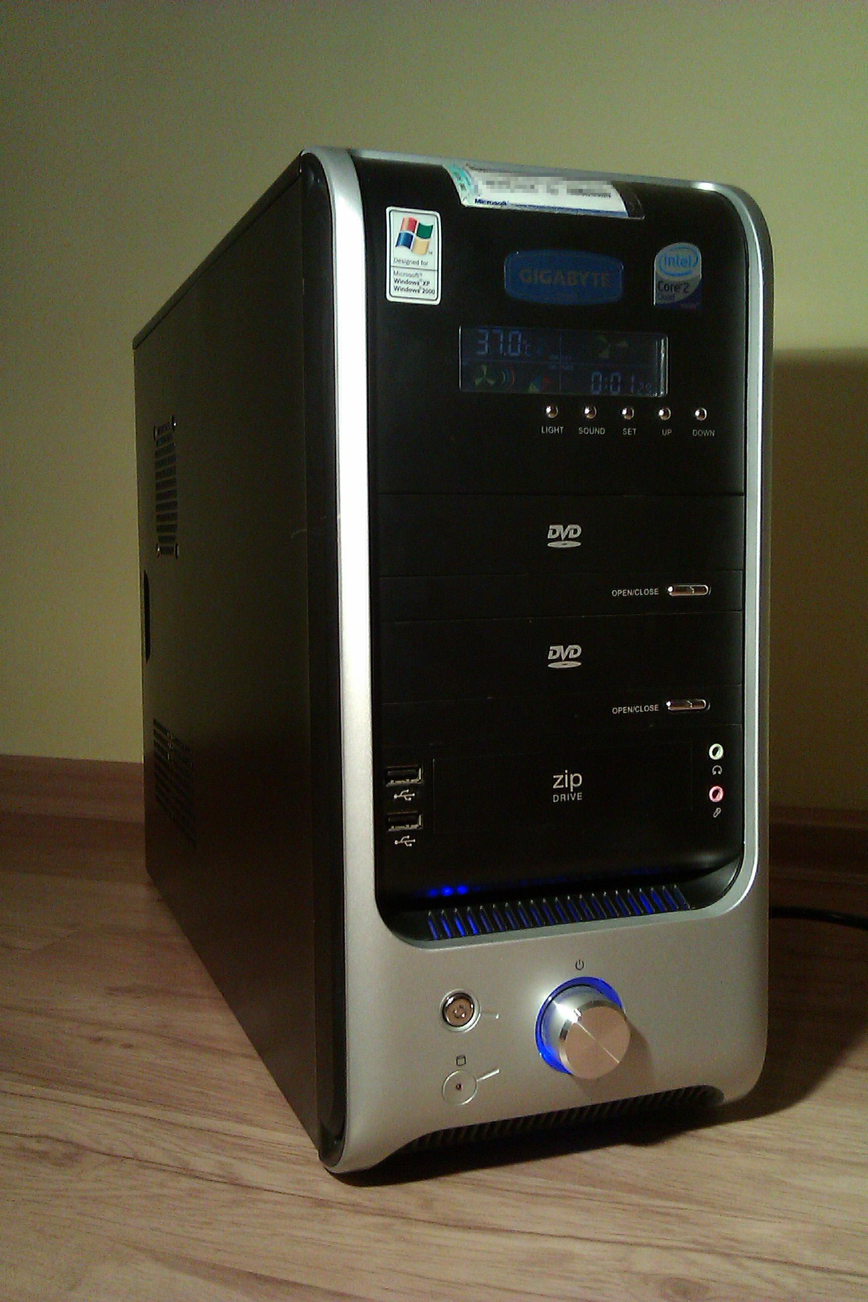 [Sprzedam] Komputer Q6600/4GB/600/HD4850/WIN XP