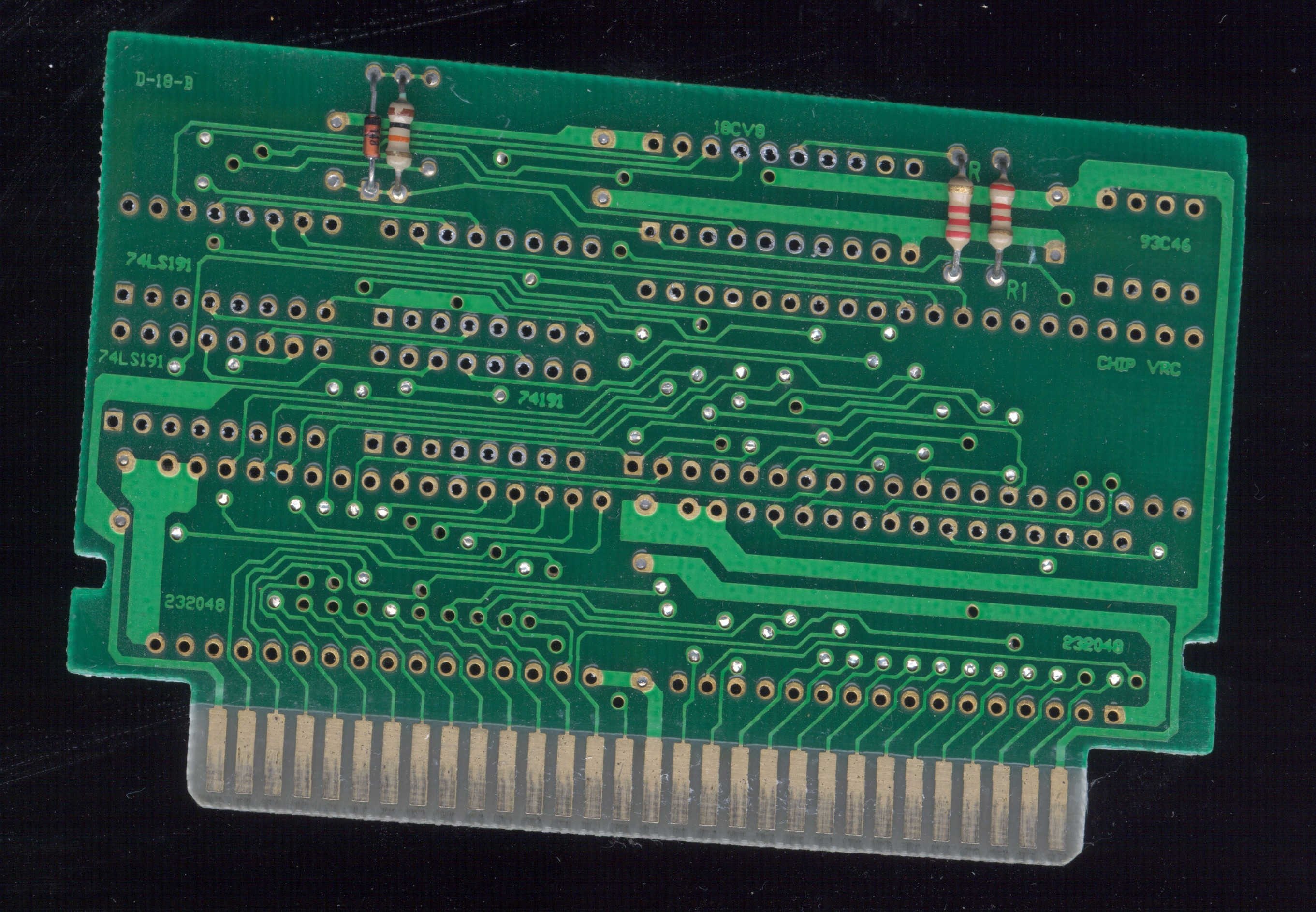 Nesdevcom View Topic 4 Interesting Pcbs With Photos Electronics Manufacturerelectro Plate Circuitry Dragon Circuits Game Ball Z 2 Ported From Bandai 24c02 One Of The Very Few Games That Uses Vrc2 Dip8 Eprom Ax5705 Is This Chip Can Also Be Seen Under Name