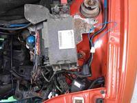Seicento 900 lpg - Gaśnie na benzynie świecąca kontrolka wtrysku