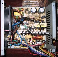 Linkworld model: LPQ6-300W rozerwało tranzystor P9NC60.
