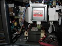 Mikrofalówka SAMSUNG CE2727N -Jak wyłączyc światło?