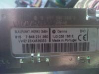 Radio VW Gamma V - 2 safe po wpisaniu błędnego kodu