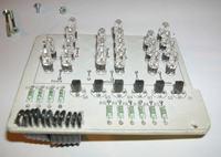 Zegar binarny na PIC16F84A - asm