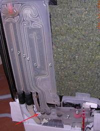 Zmywarka Siemens SE25M850EU/52 pobiera caly czas wode