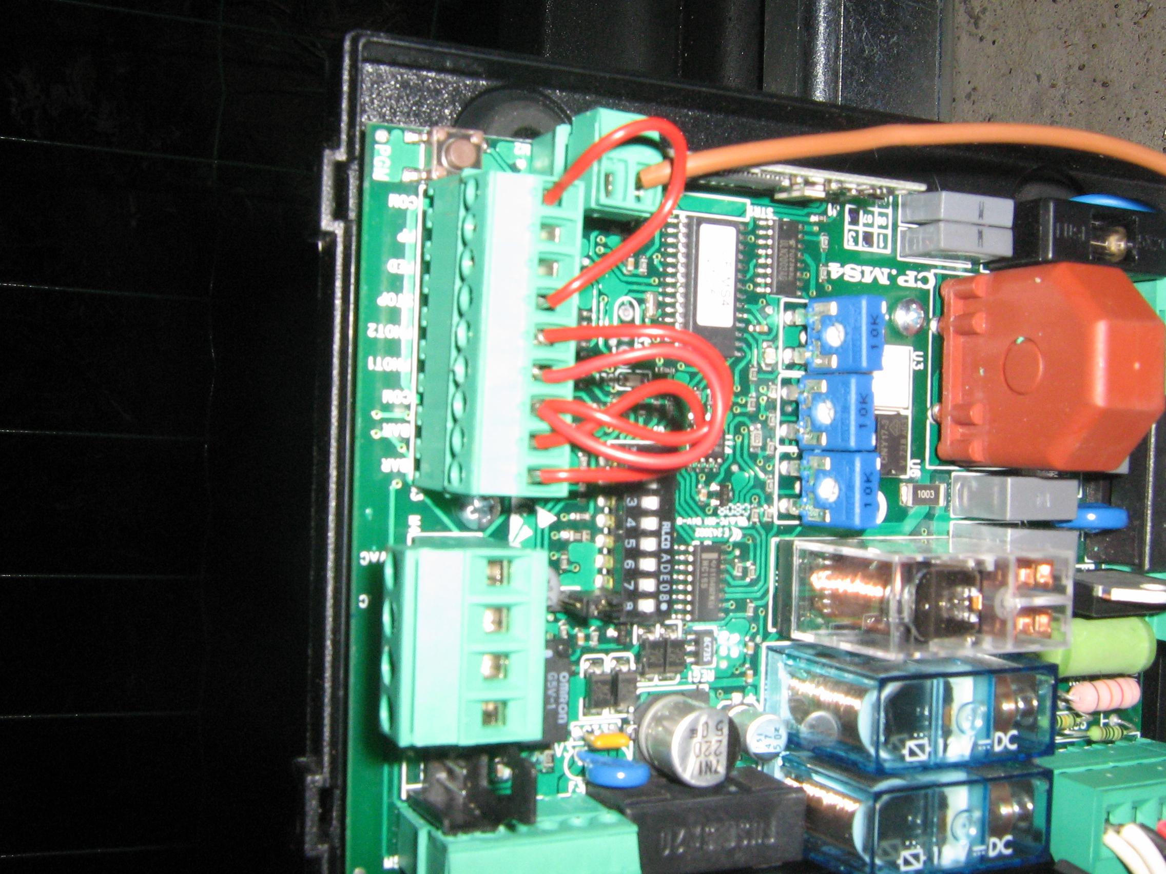 beninca ms4 brama przesuwna elektroda pl