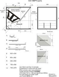 Subbasy estradowe BPH ES 18 , B&C 18 ps76