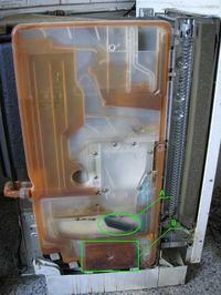 Zmywarka Bosch SPS 545/546 nie grzeje, nie myje.