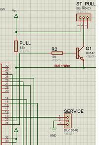 1-Wire, DS18B20, zasilanie pasożytnicze - nie działa