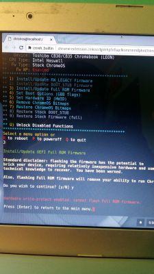 Chromebook Win7 - Instalacja systemu Windows na Chromebooku