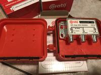 Zwrotnice - Sumowanie sygnału VHF i UHF