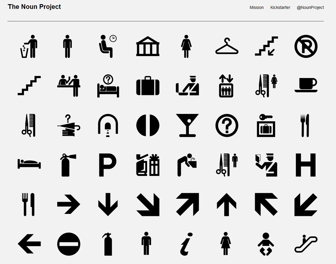 The Noun Project - bezp�atna biblioteka ikon i piktogram�w