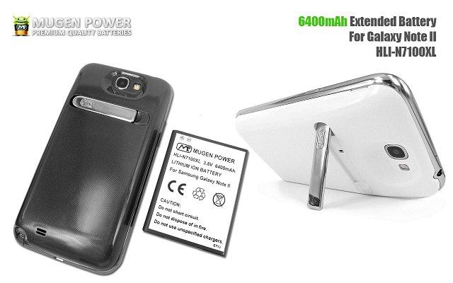 Mugen HLI-N7100XL, czyli bateria 6400mAh dla Samsung Galaxy Note 2