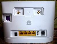 Huawei b315 - Huawei B315, połączenie internetowe z klientami