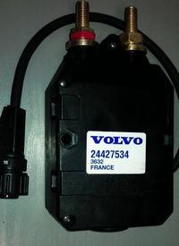 Volvo fm9 - ładuje ale świeci się kontroĺka od ładowania