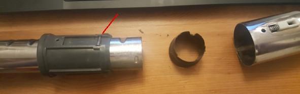 jak rozebrać rurę od odkurzacz electrolux