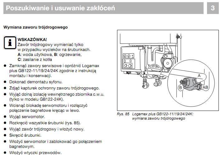 Buderus Logamax plus GB122 - myli obiegi cwu i co