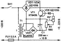 REGULATOR NAPI�CIA ZMIENNEGO 0 – 230 V