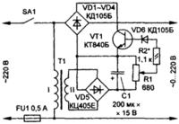 REGULATOR NAPIĘCIA ZMIENNEGO 0 – 230 V