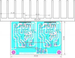 Poszukiwanie schematu końcówki mocy na Tesla KD503