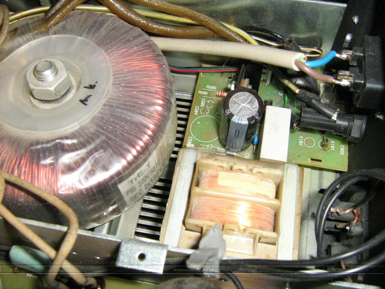 Transformator wzmacniacza Radmor A-5610