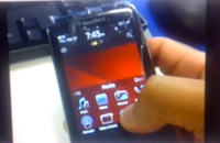 BlackBerry Storm3 pierwsze video