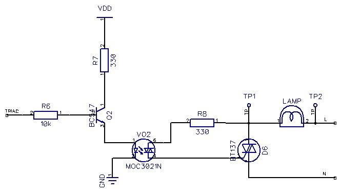 solved  triac light dimmer