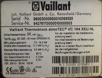 Potrzebna instrukcja PL do kotła Vaillant VC 104 XEU HL