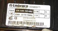 Electrolux ENL6298X3 - Nie rusza agregat inwerterowy Embraco VCC32456