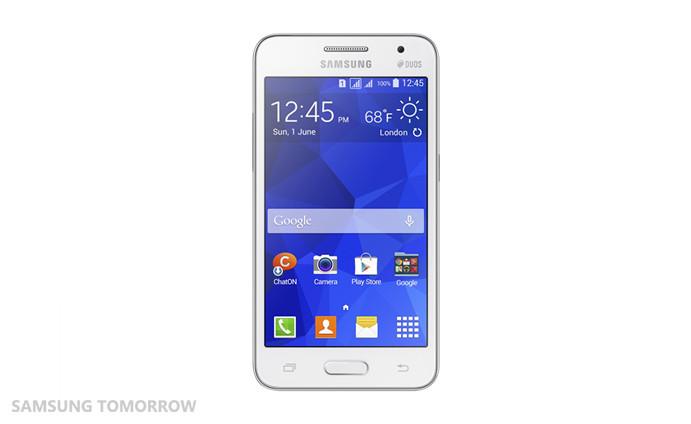"Samsung Galaxy Core II - 4,5"" smartphone z Android 4.4 i TouchWiz Essence"