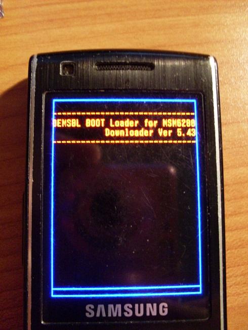 Samsung S7220 - nie w��cza si� po wymianie USB