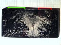 Sony Xperia J - Rozbita szybka + wylany ekran + utracona pami�ci wewn�trzna