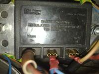 MZ ETZ 250 - Podlaczenie regulatora elektronicznego ...