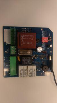 identyfikacja centrali do bramy przesuwanej 230V