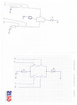 Łączenie bramek logicznych w elektronice