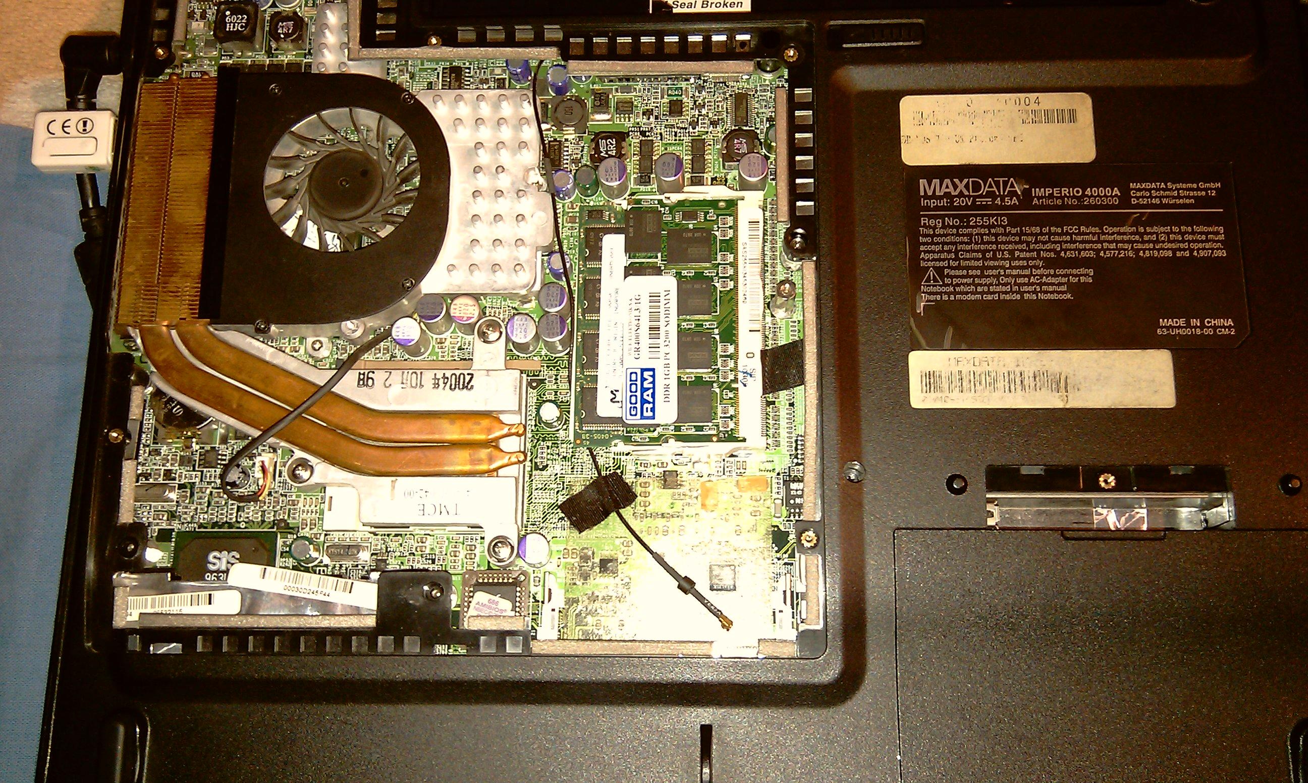 procesor w laptopie sie przegrzewa