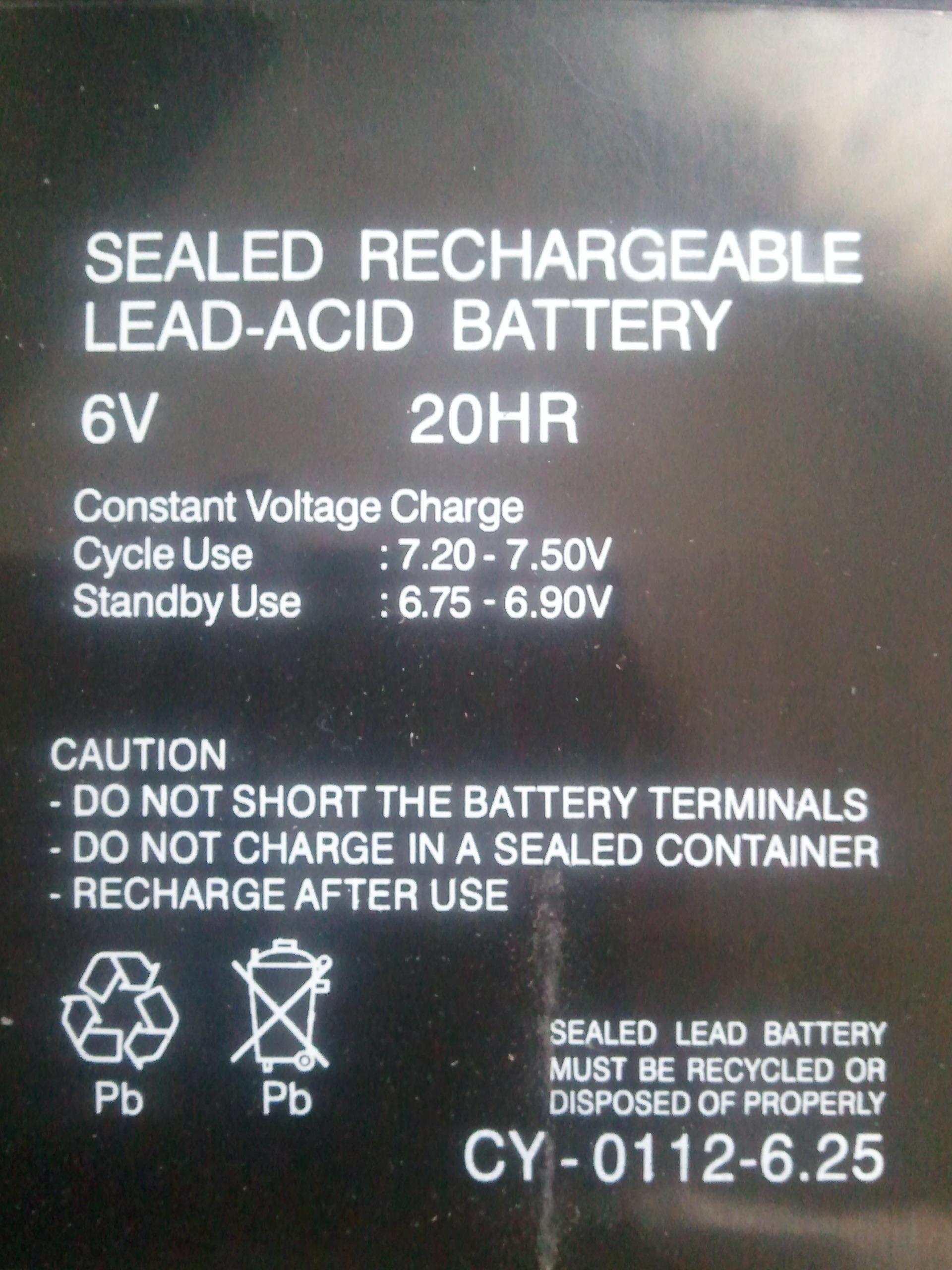 �adowanie akumulatora - ca�kowicie spalona �adowarka