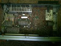Amplituner stereo Tosca 303 nie działa wejście na kolumnę.