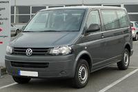 VW transporter T5 - �wiat�a przednie schemat pod��czenia.