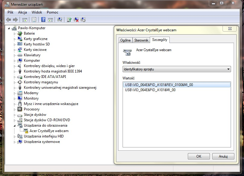 Acer Crystal Eye Web Cam Driver for Windows 7 Download - TECHRENA