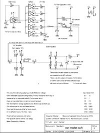 Miernik ESR kondensatorów elektrolitycznych na NE555 - pomysły usprawnienia.