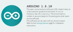 Nowa wersja 1.8.10 środowiska Arduino