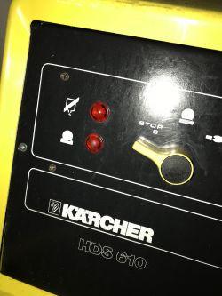 Instrukcja lub opis kontrolek Karcher HDS 610