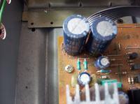 kenwood KA-V3700 - Wymiana wylanych kondensatorów