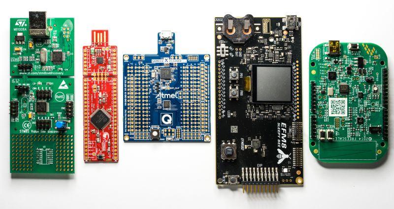 Porównanie 21 mikrokontrolerów kosztujących poniżej jednego dolara - część 2