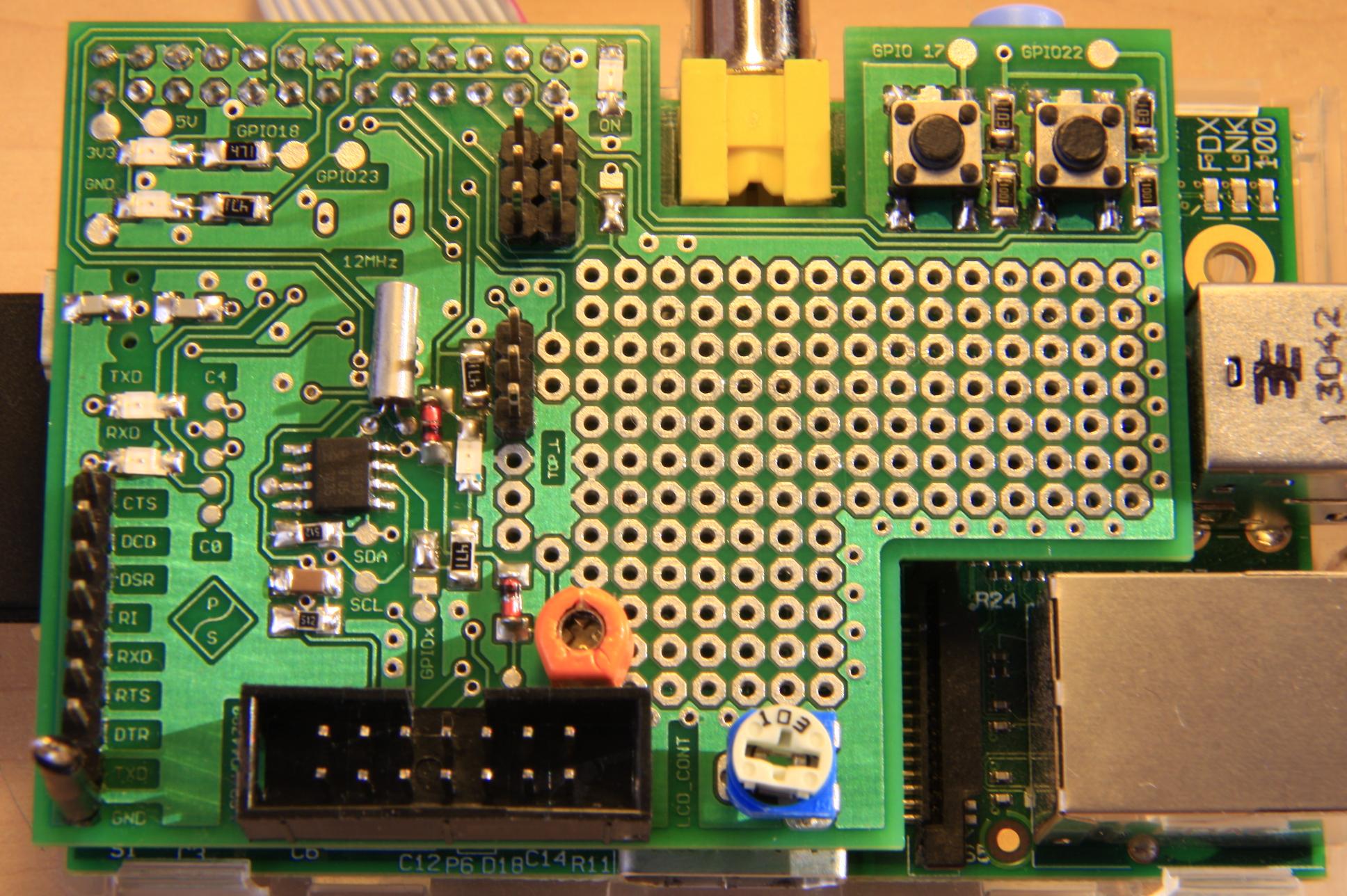 ProTek Pi Extbrd -rozszerzenie do Raspberry PI