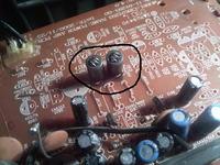 Thomson AM 1550  - Jeden kana� cicho gra/czyszczenie PCB z elektrolitu