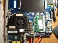 HP Compaq Presario C500 - Brak podświetlenia matrycy- uszkodzony inwerter.